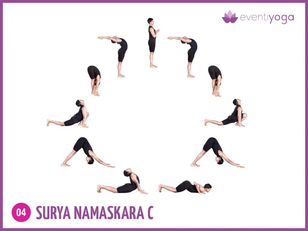 Surya Namaskara c mal di schiena