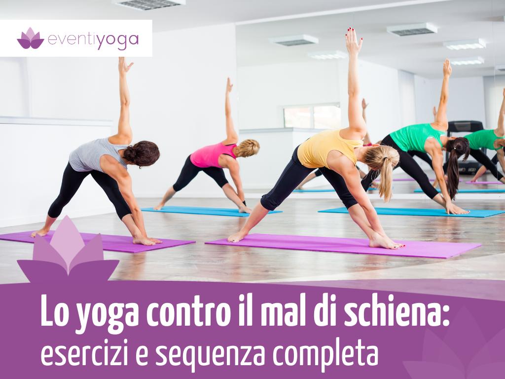 Yoga contro mal di schiena