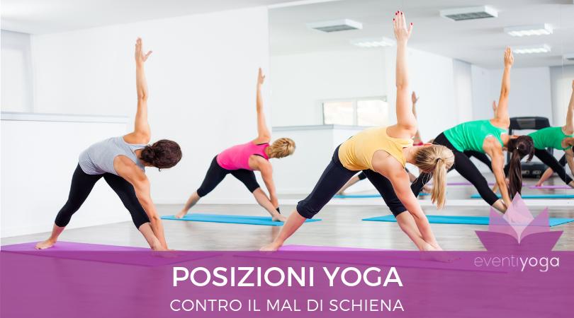 Quali posture dello yoga possono alleviare il mal di schiena?