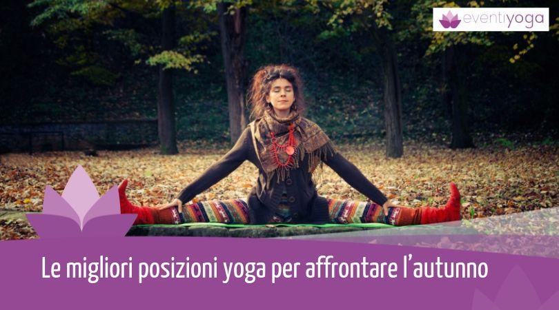 posizioni yoga autunno
