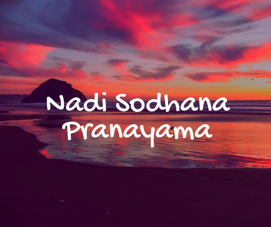 Nadi Sodhana Pranayama