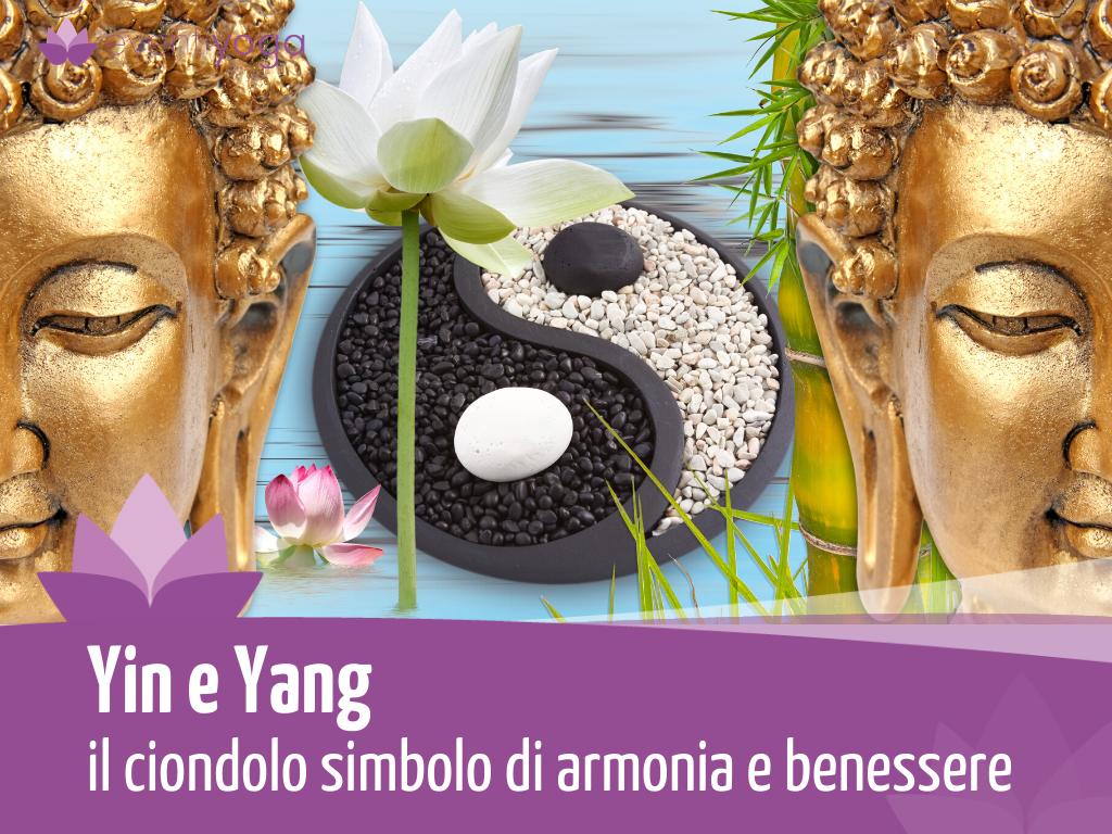 Yin E Yang Il Ciondolo Simbolo Di Armonia E Benessere