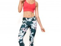 Leggings classici 7/8 stampa Botanical