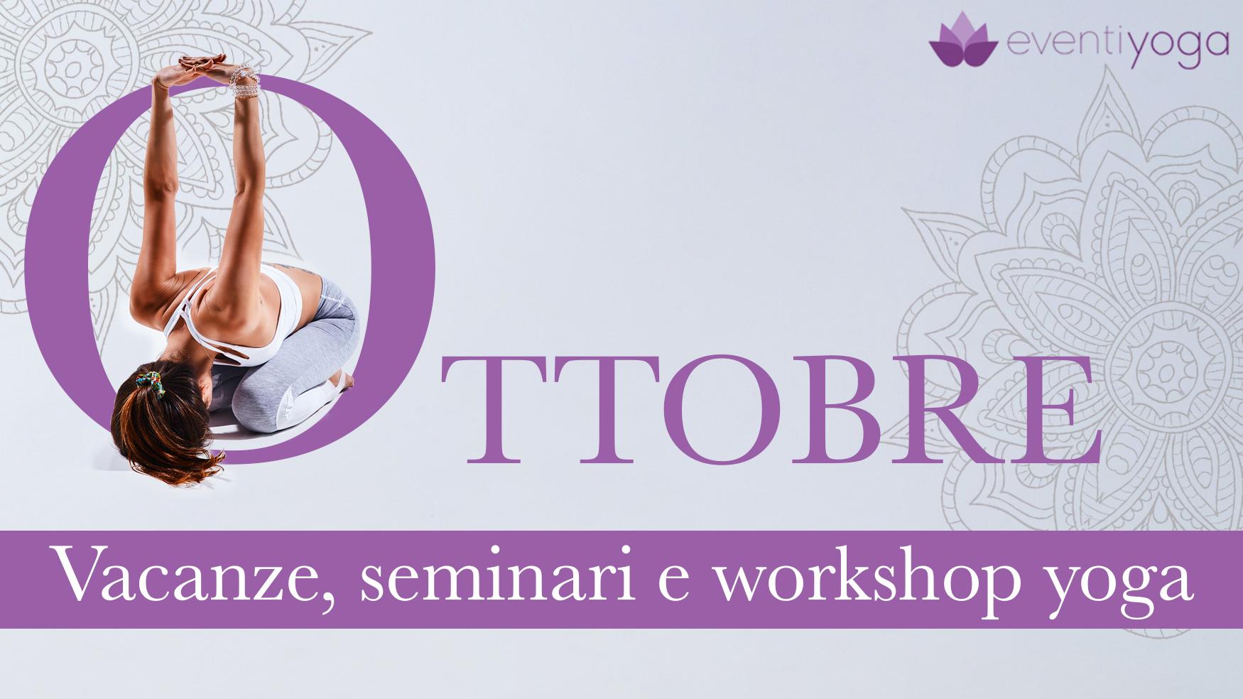 eventi yoga ottobre