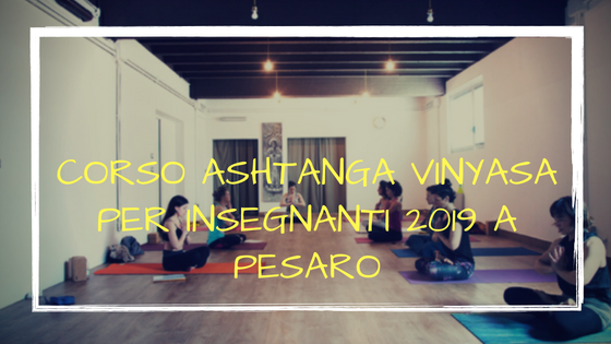 corso ashtanga 2019