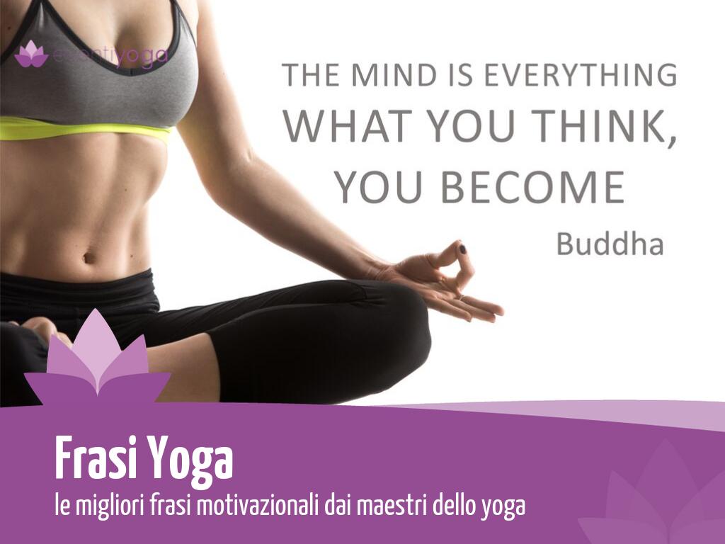 frasi yoga motivazionali