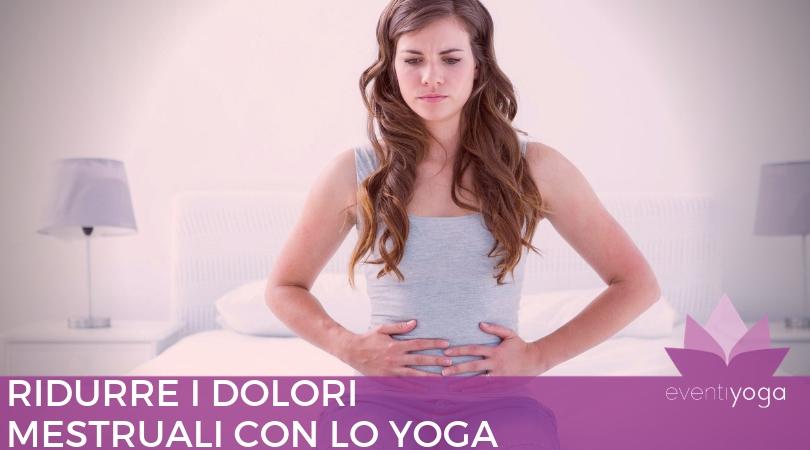 dolori mestruali e yoga