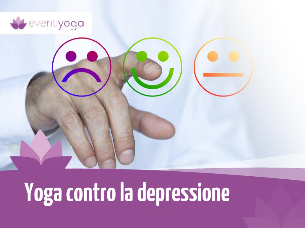 Yoga contro la depressione