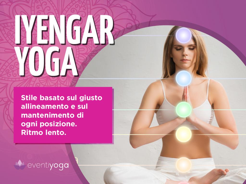 Stili di yoga: Iyengar Yoga