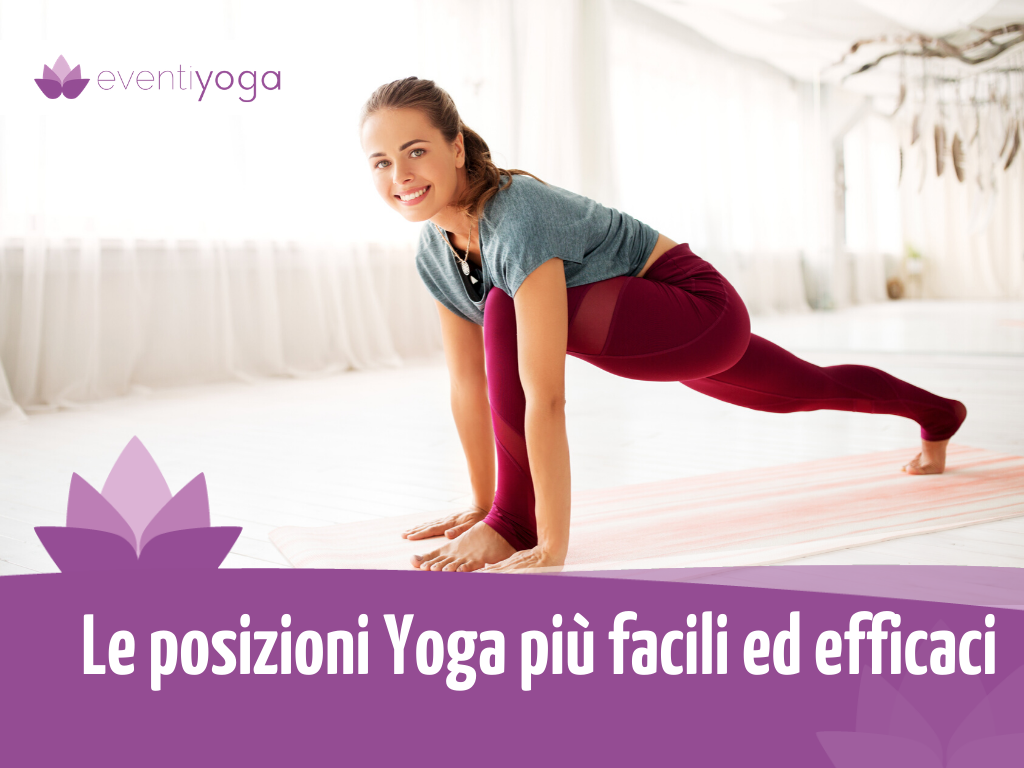 Posizioni Yoga Facili ed efficaci