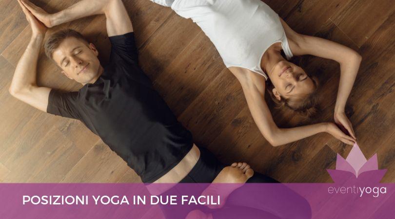 posizioni yoga in due facili