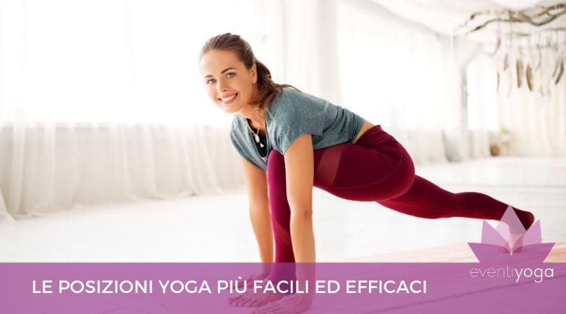 posizioni yoga facili