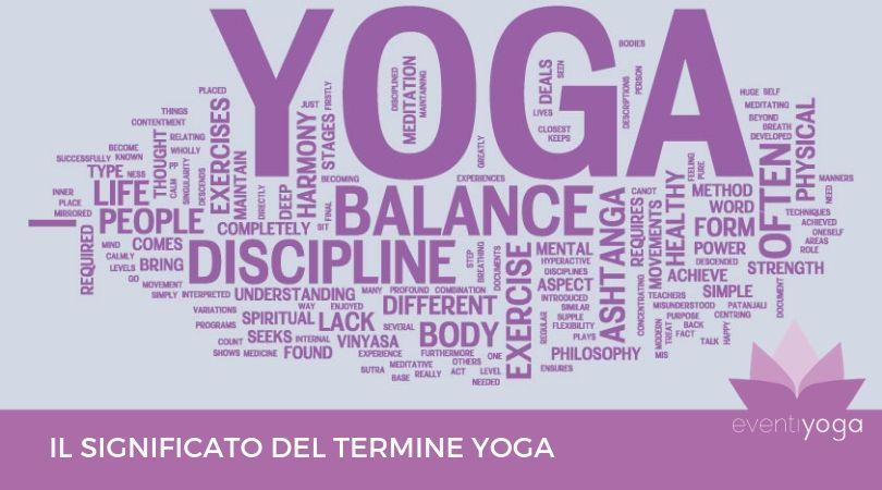 yoga significato