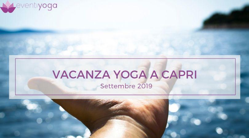 Vacanza Yoga a Capri Settembre 2019