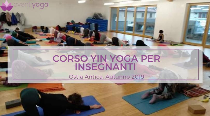 Corso Yin Yoga Ostia Antica Autunno 2019