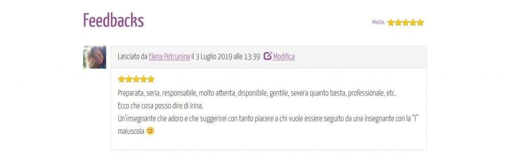 Referenze sul sito eventiyoga.it