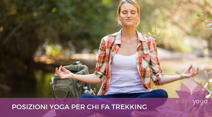 Posizioni yoga trekking