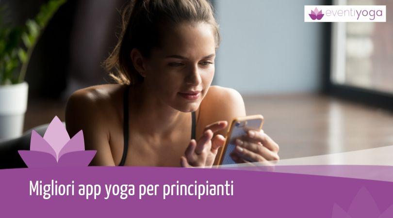 migliori app yoga per principianti