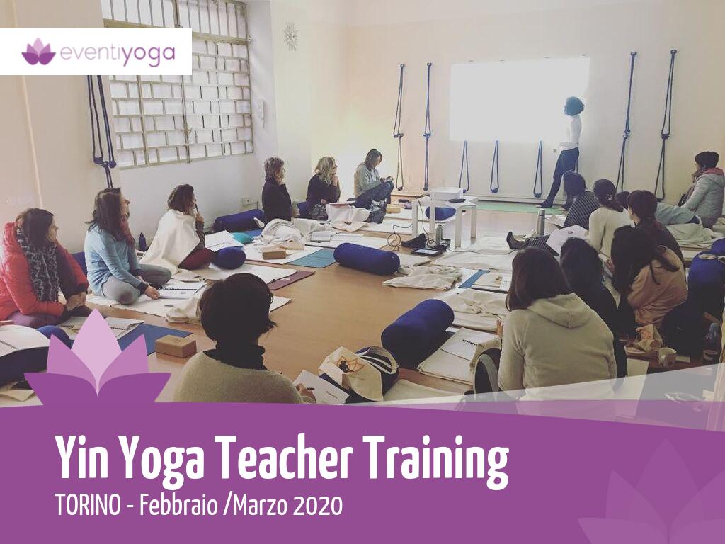 Yin Yoga Teacher Training Torino 2020: Yin Yoga e Meridiani