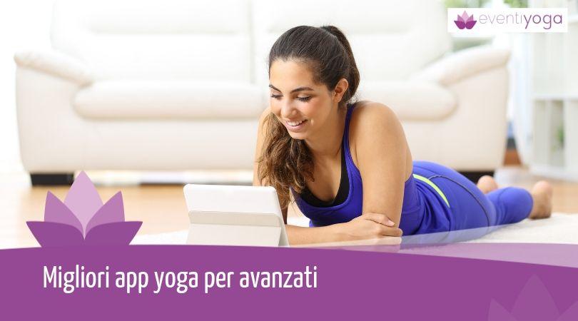 migliori app yoga per avanzati