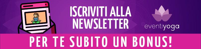 Iscriviti alla Newsletter – Per te subito un Bonus!