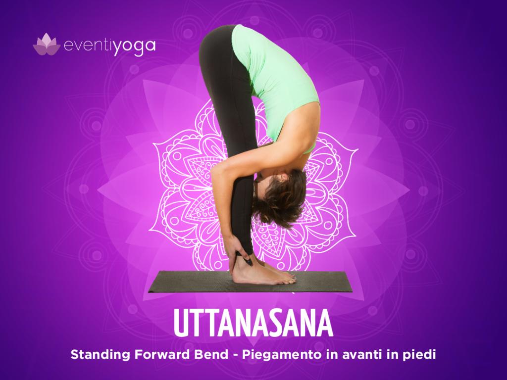 Uttanasana, posizioni yoga