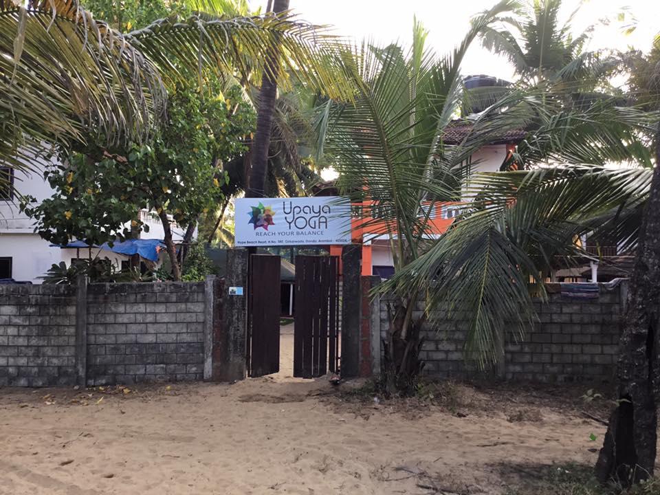 Viaggio Yoga: India, Upaya Yoga, la spiaggia e il centro yoga