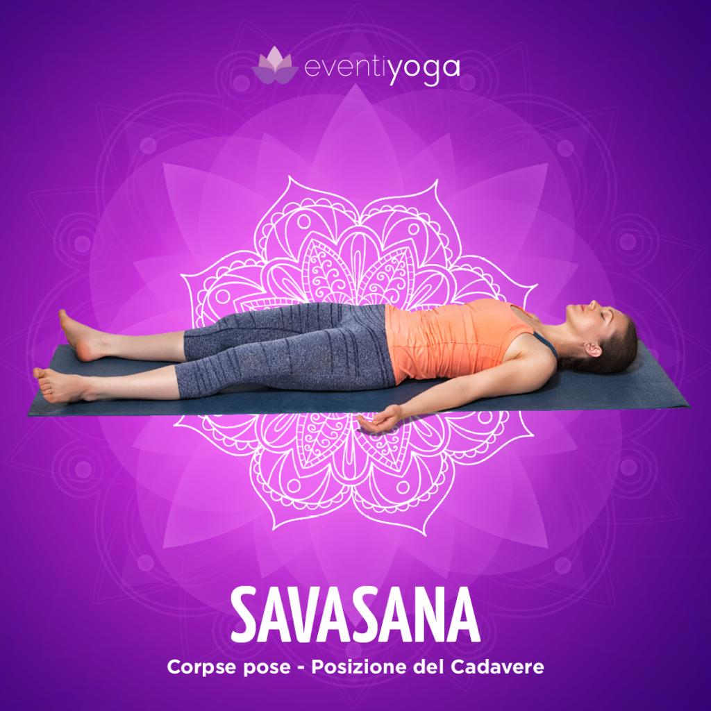 Savasana errori principianti yoga