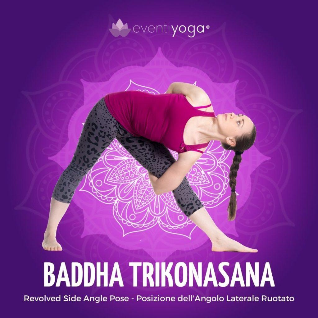 Baddha Trikonasana