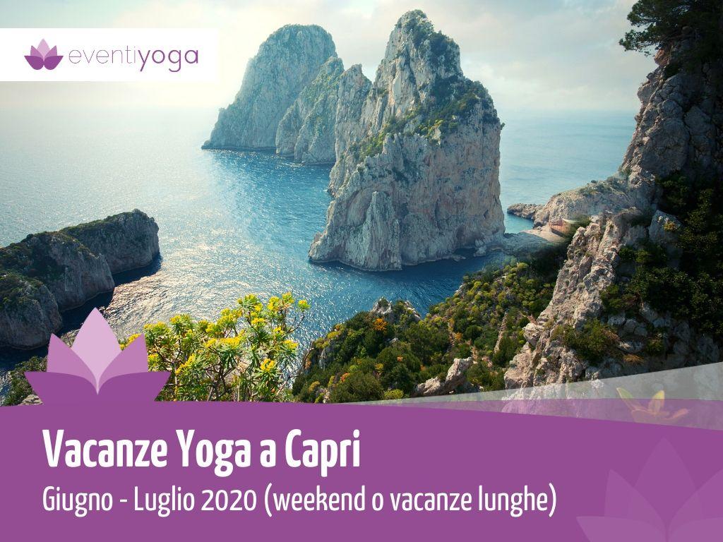 Vacanza Yoga a Capri Giugno-Luglio 2020
