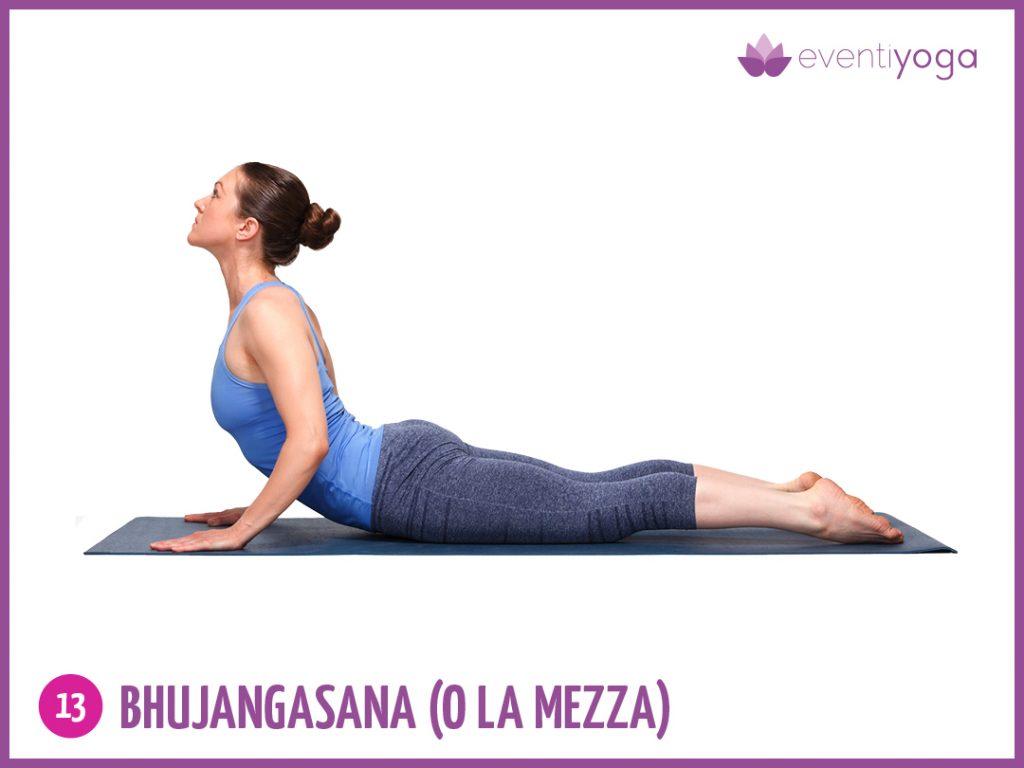 bhujangasana contro mal di schiena