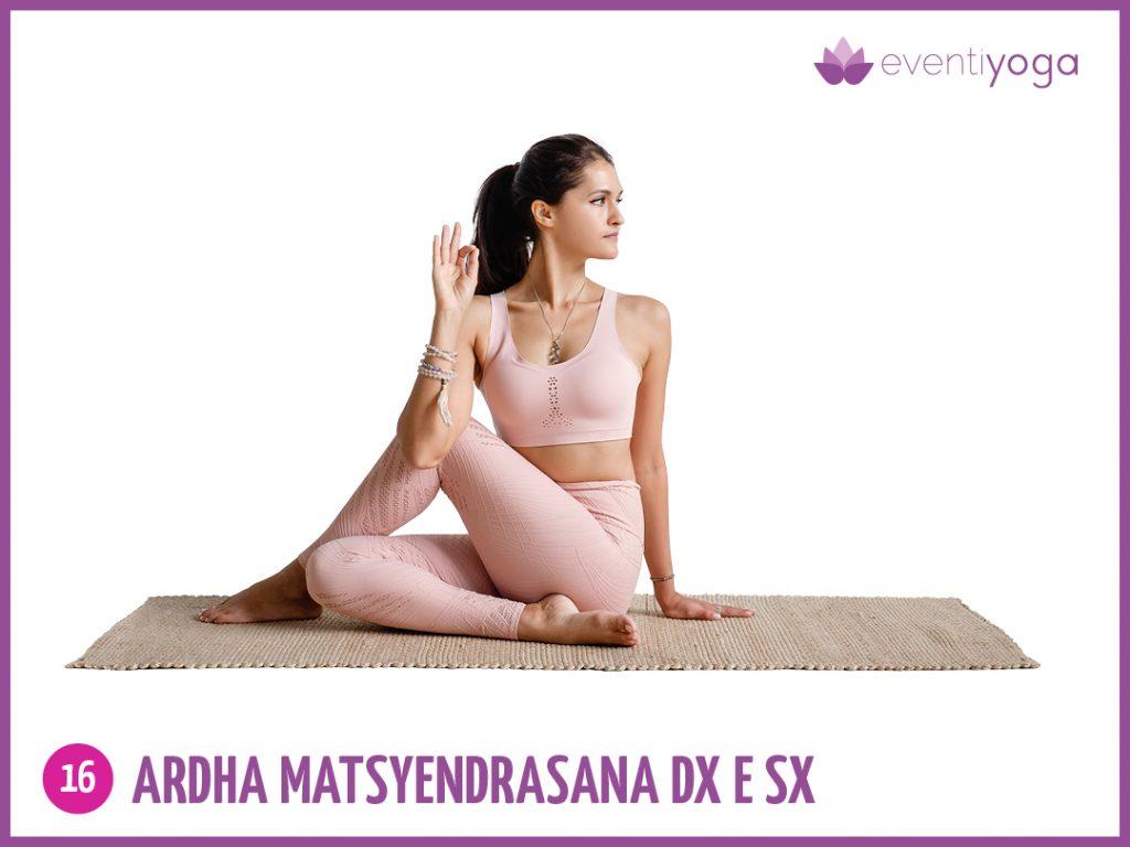 Ardha matsyadana contro mal di schiena