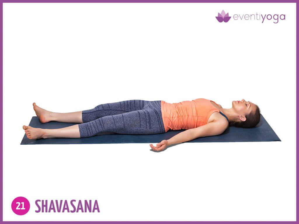 shavasana contro mal di schiena