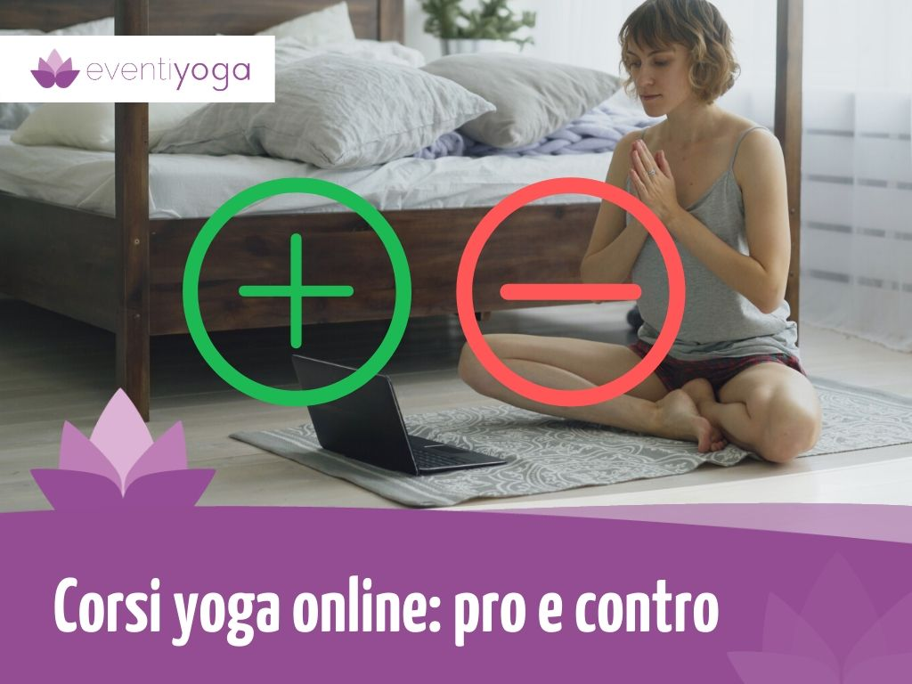 Corsi yoga online: pro e contro