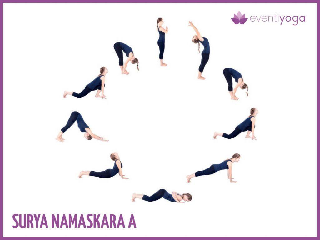 Surya Namaskara A mal di schiena