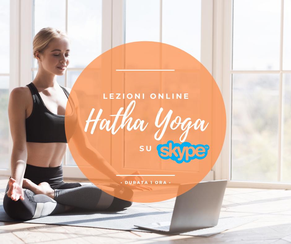 Lezioni di Hatha Yoga Online
