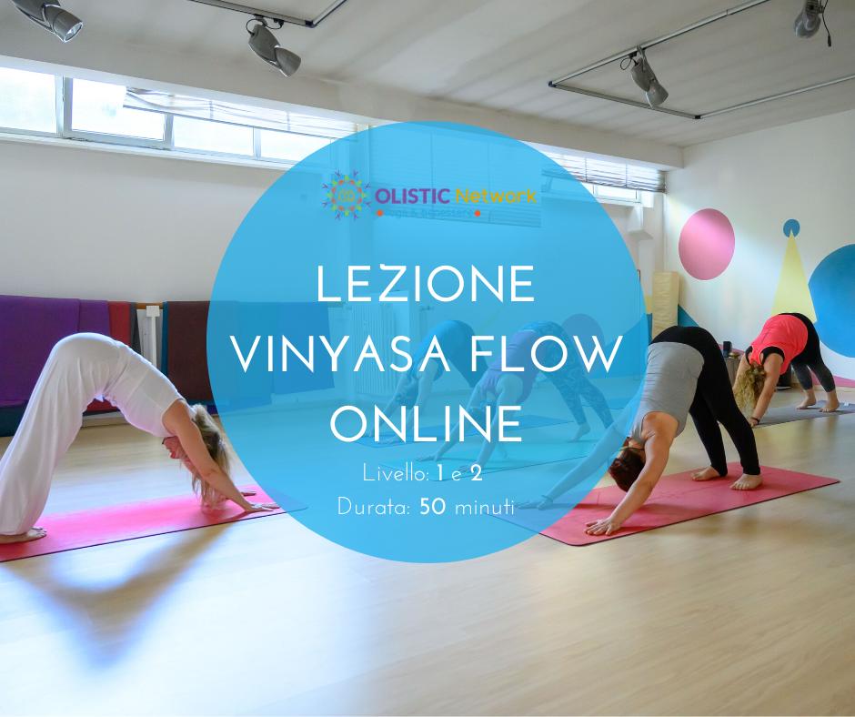 Lezione Vinyasa Flow Yoga Online