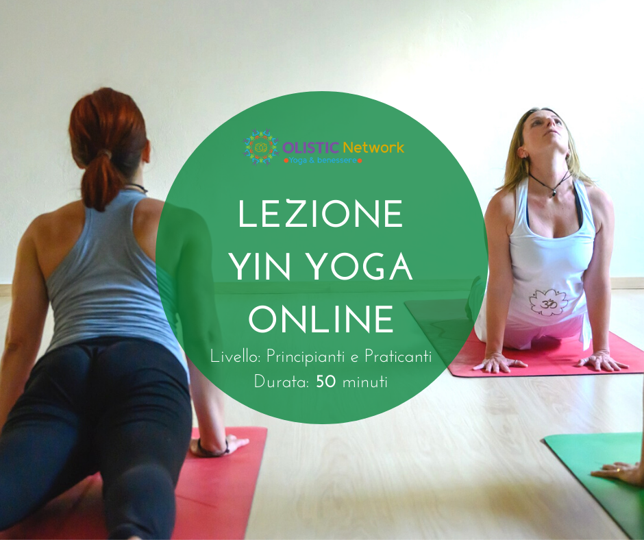 Lezioni Yin Yoga Online