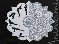 Coperta Plaid Yoga in Lana Merino 100%. GRATITUDINE. Personalizzabile