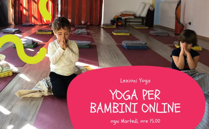 Yoga bambini online