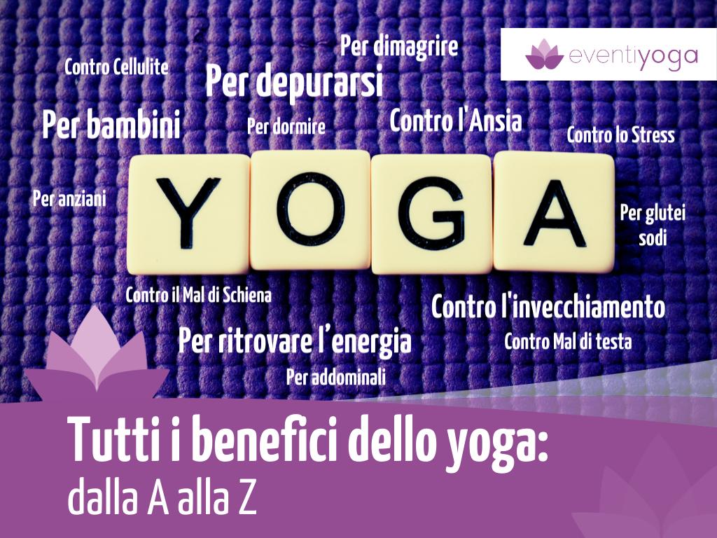 Tutti benefici dello yoga