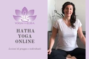 Hatha yoga online Elisa italiano
