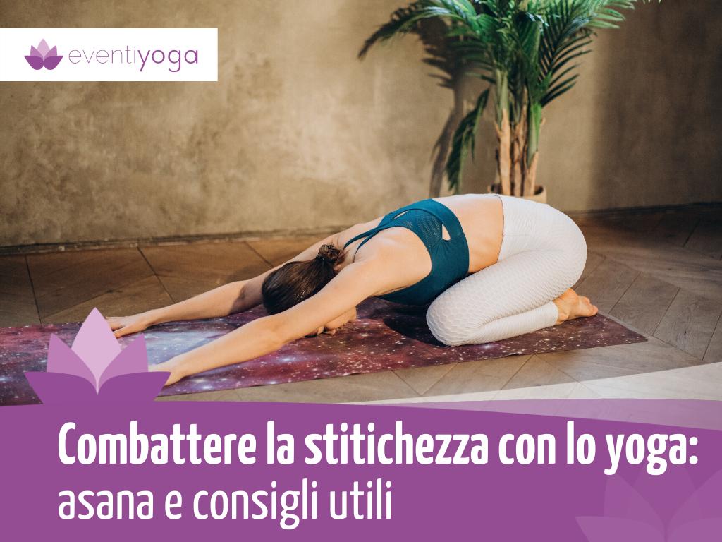 Combattere la stitichezza con lo yoga