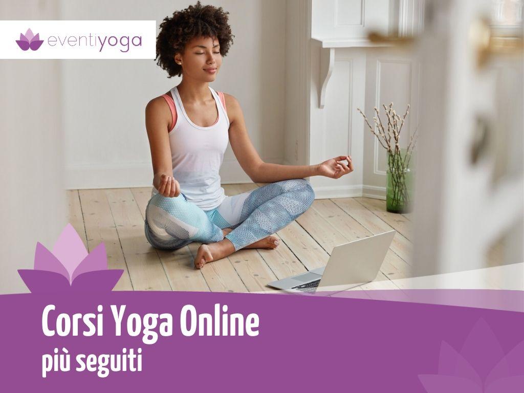 corsi yoga online italiano