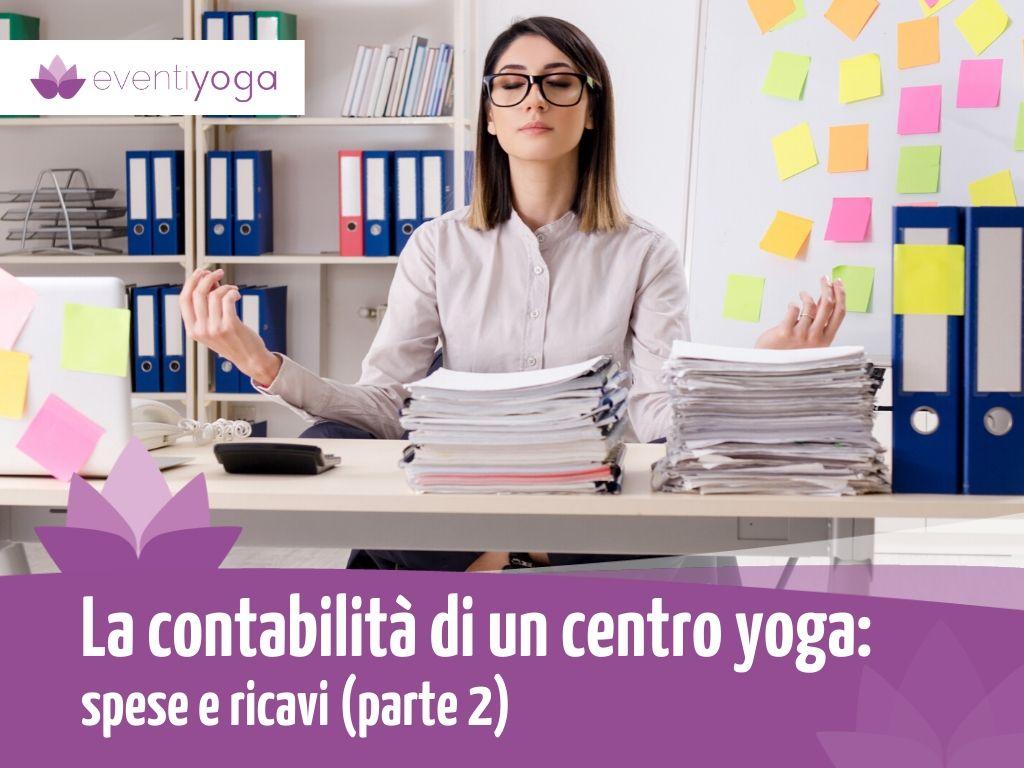 Contabilità centro yoga