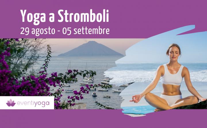 Vacanza yoga agosto a STromboli