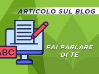 Articolo promozionale sul Blog di Eventiyoga