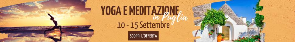 Yoga e Meditazione in Puglia Settembre