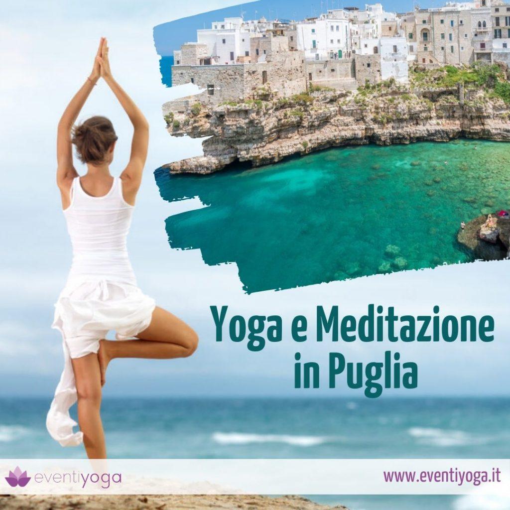 Yoga e meditazione in Puglia