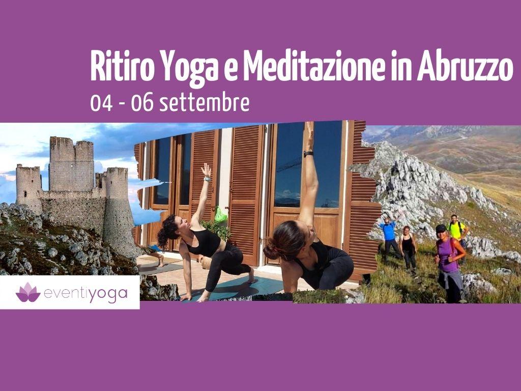 Vacanze yoga settembre 2020 Abruzzo